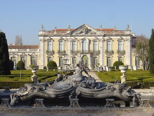 El Palacio Nacional de Queluz