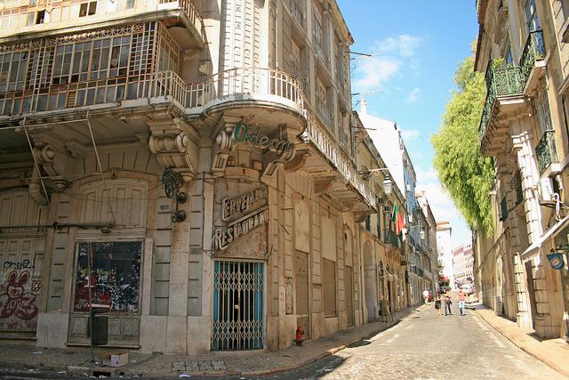 Rua das Portas de Santo Antão - Lisboa (Portugal)