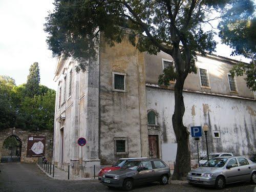 la iglesia de Santa Cruz do Castelo