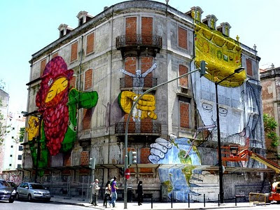 grafitis en lisboa